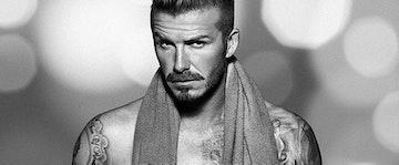 Beckham in his briefs
