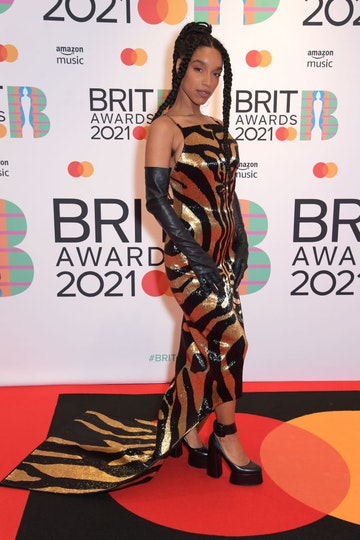 Lianne La Havas arrives at The BRIT Awards 2021 at The O2 Arena on May 11, 2021 in London, England.  (Photo by David M. Benett/Dave Benett/Getty Images)