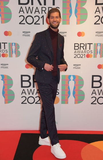 Nathan Dawe arrives at The BRIT Awards 2021 at The O2 Arena on May 11, 2021 in London, England.  (Photo by David M. Benett/Dave Benett/Getty Images)