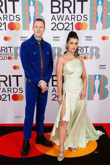(L-R) 220 Kid and GRACEY attend The BRIT Awards 2021 at The O2 Arena on May 11, 2021 in London, England. (Photo by JMEnternational/JMEnternational for BRIT Awards/Getty Images)
