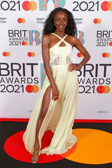 AJ Odudu attends The BRIT Awards 2021 at The O2 Arena on May 11, 2021 in London, England. (Photo by JMEnternational/JMEnternational for BRIT Awards/Getty Images)