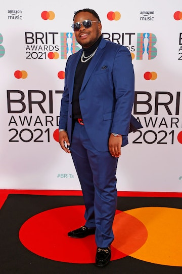 S1MBA attends The BRIT Awards 2021 at The O2 Arena on May 11, 2021 in London, England. (Photo by JMEnternational/JMEnternational for BRIT Awards/Getty Images)