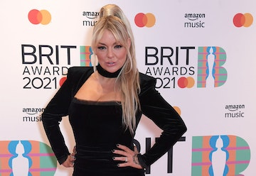 Sheridan Smith arrives at The BRIT Awards 2021 at The O2 Arena on May 11, 2021 in London, England.  (Photo by David M. Benett/Dave Benett/Getty Images)
