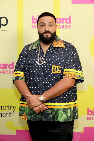 DJ Khaled poses backstage for the 2021 Billboard Music Awards, broadcast on May 23, 2021 at Microsoft Theater in Los Angeles, California. (Photo by Rich Fury/Getty Images for dcp)