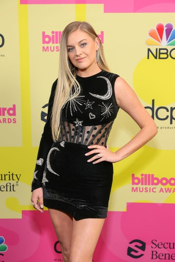 Kelsea Ballerini poses backstage for the 2021 Billboard Music Awards, broadcast on May 23, 2021 at Microsoft Theater in Los Angeles, California. (Photo by Rich Fury/Getty Images for dcp)