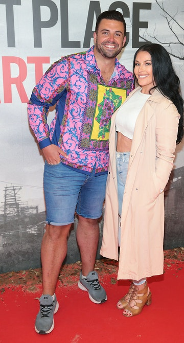 Karl Bowe and Lynsey Mulvey pictured at the 'A Quiet Place Part II 'screening at the Odeon Cinema in Point Square ,Dublin. Picture  Brian McEvoy/ PIP