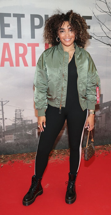 Erica Cody pictured at the 'A Quiet Place Part II ' screening at the Odeon Cinema in Point Square ,Dublin. Picture  Brian McEvoy/ PIP