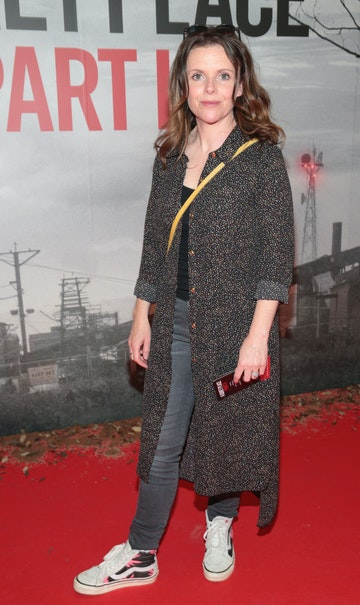 Actress Denise McCormack pictured at the 'A Quiet Place Part II 'screening at the Odeon Cinema in Point Square ,Dublin. Picture  Brian McEvoy/ PIP
